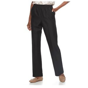 Alfred Dunner Classics Plus Pull On Pant